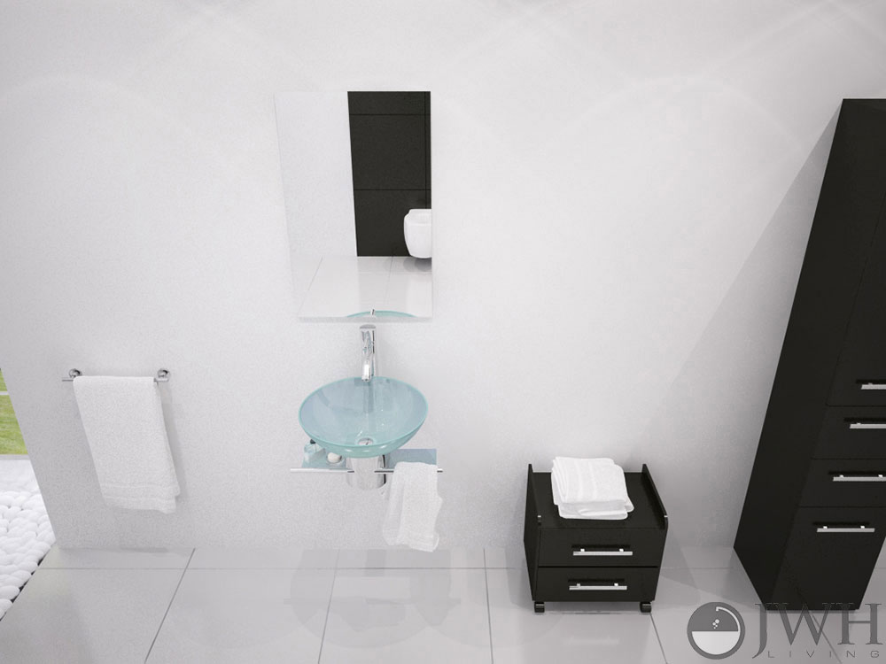 """17.75"""" Artemis Single Vessel Sink Vanity"""