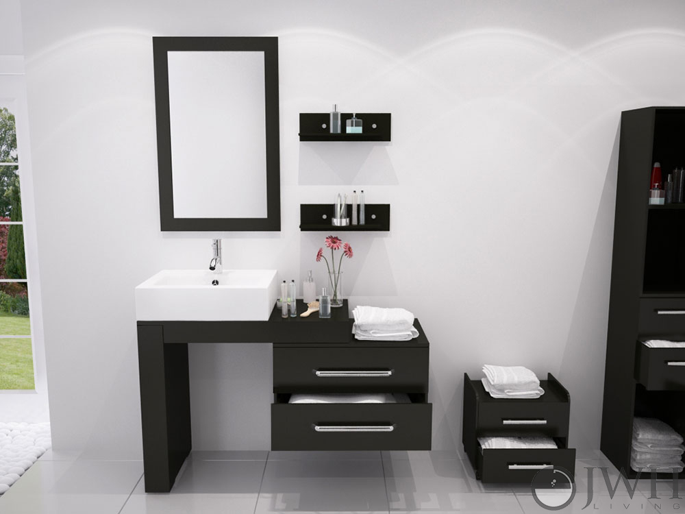 48 Inch Bathroom Vanity Single Sink