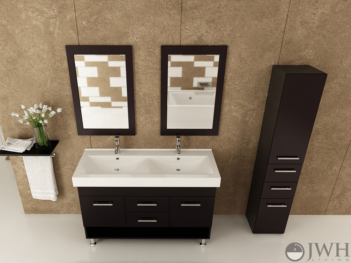 Jwh Living 48 Quot Rigel Double Sink Vanity