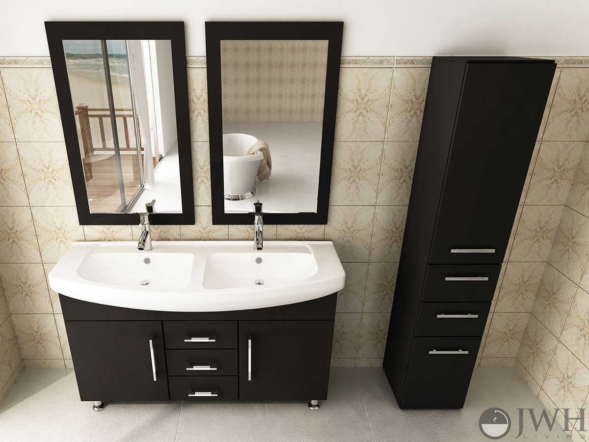 Jwh Living 48 Celine Double Sink Vanity