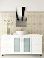 "47.25"" Grand Lune Single Bath Vanity - White"